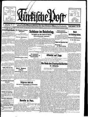 Türkische Post vom 21.02.1931