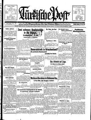 Türkische Post on Feb 22, 1931