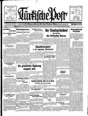 Türkische Post vom 23.02.1931