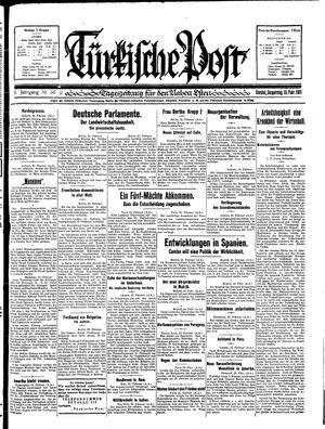 Türkische Post on Feb 26, 1931