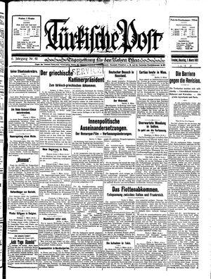 Türkische Post on Mar 3, 1931