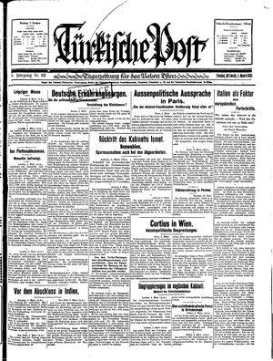 Türkische Post vom 04.03.1931