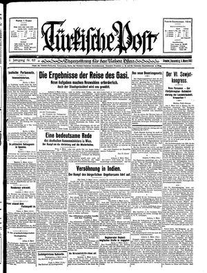 Türkische Post vom 05.03.1931