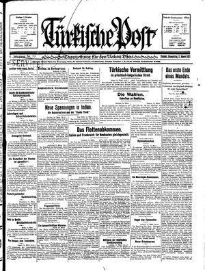 Türkische Post vom 12.03.1931