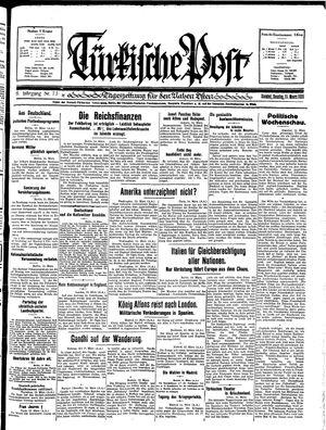 Türkische Post on Mar 15, 1931