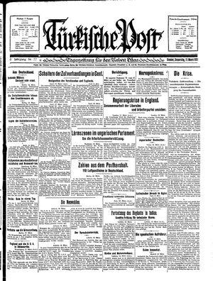 Türkische Post vom 19.03.1931