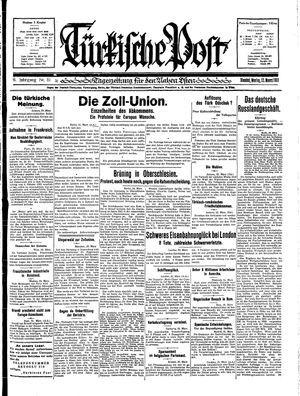 Türkische Post on Mar 23, 1931