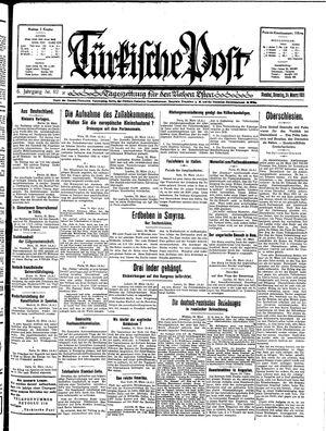 Türkische Post vom 24.03.1931
