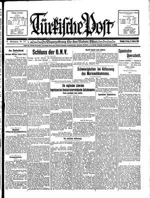 Türkische Post vom 27.03.1931