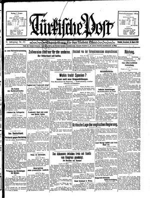 Türkische Post vom 28.03.1931