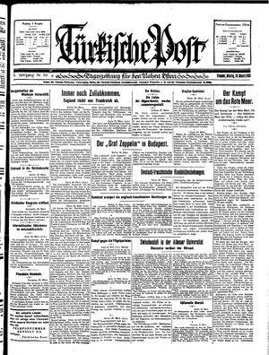 Türkische Post vom 30.03.1931