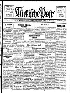 Türkische Post vom 01.04.1931