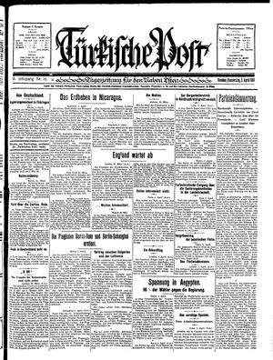 Türkische Post on Apr 2, 1931