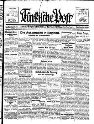 Türkische Post vom 09.04.1931
