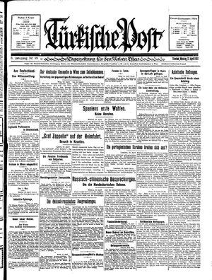Türkische Post vom 13.04.1931