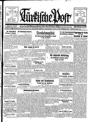 Türkische Post vom 30.04.1931