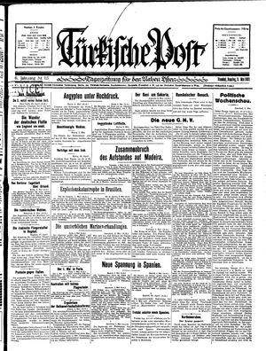 Türkische Post on May 3, 1931