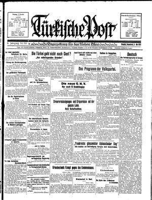 Türkische Post vom 09.05.1931
