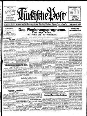 Türkische Post vom 10.05.1931