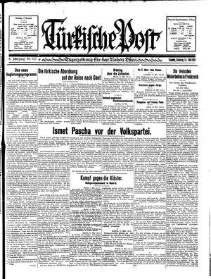 Türkische Post vom 12.05.1931