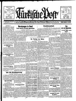 Türkische Post vom 23.05.1931