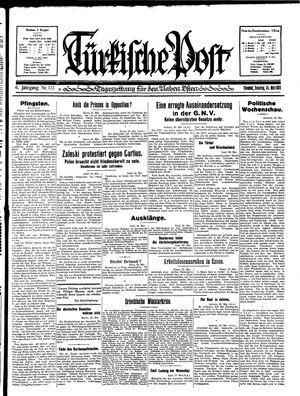 Türkische Post vom 24.05.1931