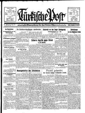 Türkische Post vom 30.05.1931
