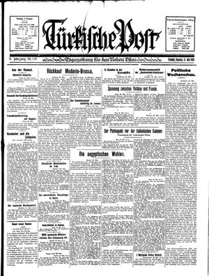 Türkische Post on May 31, 1931