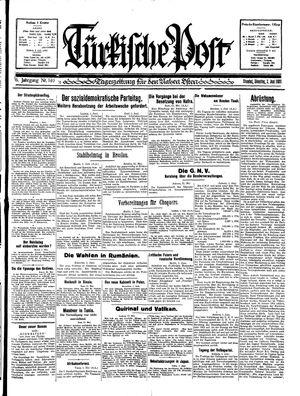 Türkische Post vom 02.06.1931