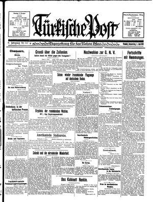 Türkische Post vom 04.06.1931