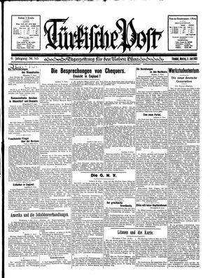 Türkische Post vom 08.06.1931