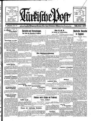 Türkische Post vom 09.06.1931