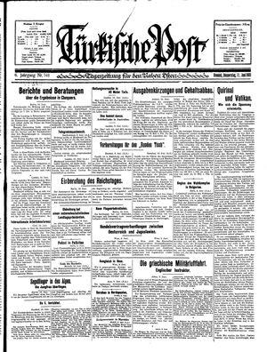 Türkische Post on Jun 11, 1931