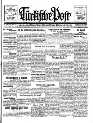 Türkische Post vom 16.06.1931