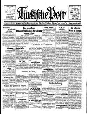 Türkische Post vom 23.06.1931