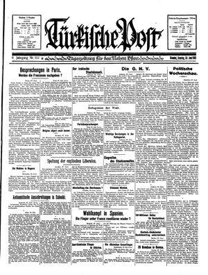 Türkische Post vom 28.06.1931