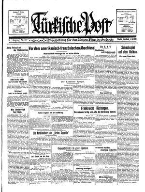 Türkische Post vom 04.07.1931