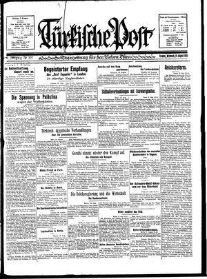 Türkische Post on Aug 19, 1931