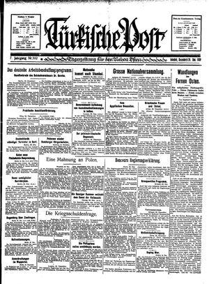 Türkische Post vom 24.12.1932