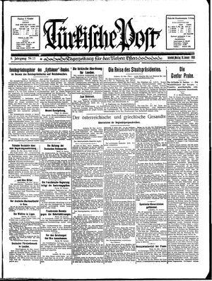 Türkische Post vom 16.01.1933