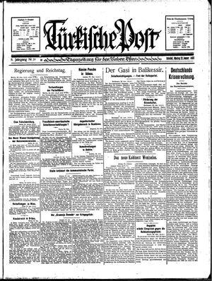 Türkische Post vom 23.01.1933