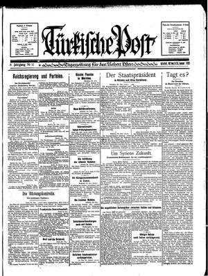 Türkische Post on Jan 25, 1933