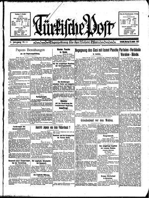 Türkische Post vom 30.01.1933