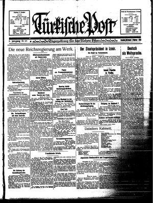 Türkische Post vom 01.02.1933