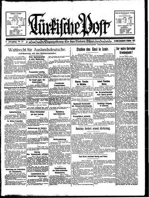 Türkische Post vom 04.02.1933