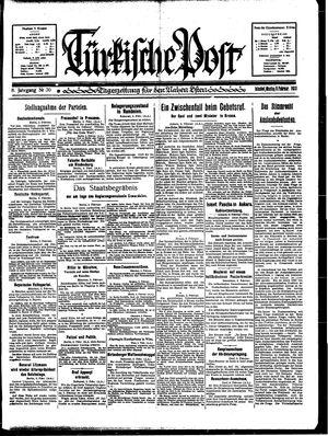 Türkische Post vom 06.02.1933