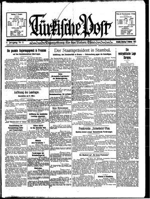 Türkische Post on Feb 7, 1933