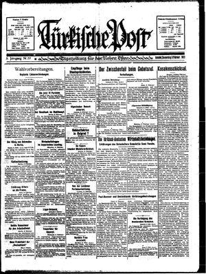 Türkische Post vom 09.02.1933