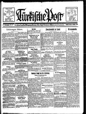 Türkische Post vom 14.02.1933