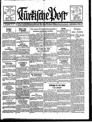 Türkische Post on Feb 16, 1933